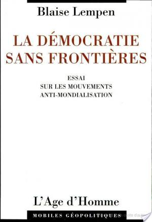 Affiche La démocratie sans frontières