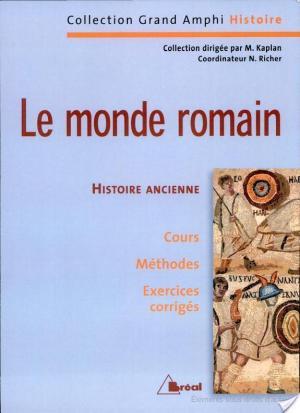 Affiche Le monde romain