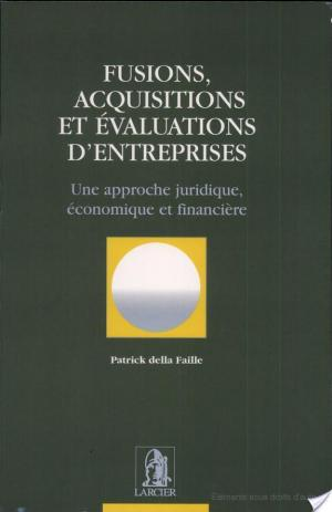 Affiche Fusions, acquisitions et évaluations d'entreprises