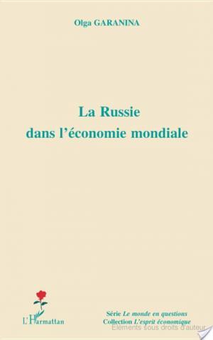 Affiche La Russie dans l'économie mondiale
