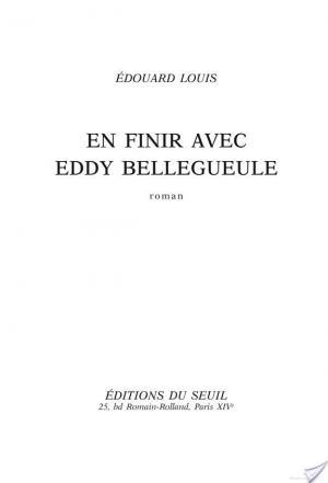 Affiche En finir avec Eddy Bellegueule