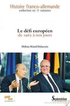Affiche Le défi européen