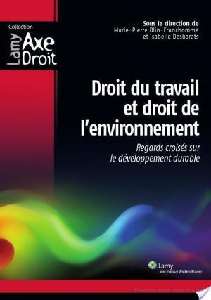 Affiche Droit du travail et droit de l'environnement