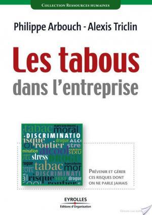 Affiche Les tabous dans l'entreprise
