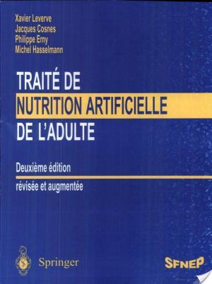 Affiche Traité de nutrition artificielle de l'adulte