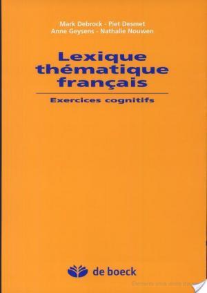 Affiche Lexique thématique français