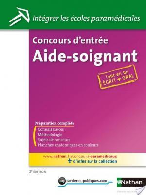 Affiche Concours d'entrée Aide-soignant - épreuves écrites et orales
