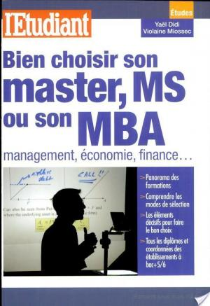 Affiche Bien choisir son master, MS ou son MBA