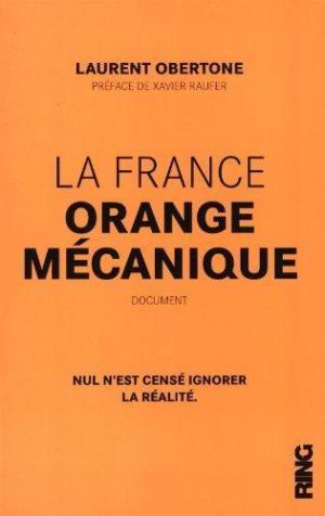 Affiche La France orange mécanique