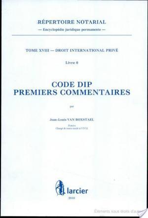 Affiche Code DIP