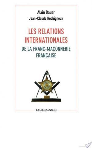 Affiche Les relations internationales de la franc-maçonnerie française