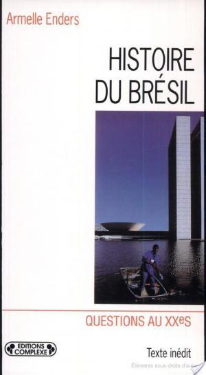 Affiche Histoire du Brésil contemporain