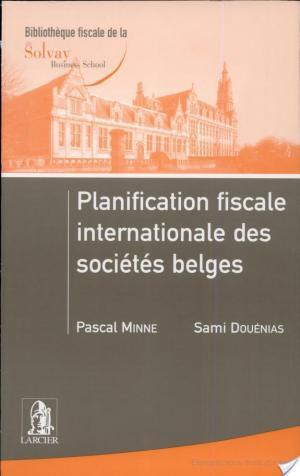 Affiche Planification fiscale internationale des sociétés belges