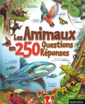 Affiche Les animaux en 250 questions-réponses