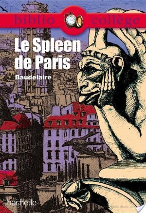 Affiche Bibliocollège - Le Spleen de Paris, Baudelaire