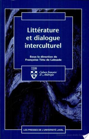 Affiche Littérature et dialogue interculturel