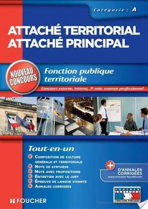 Affiche Attaché territorial Attaché principal
