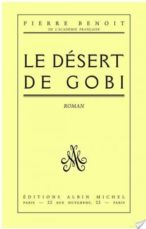 Affiche Le Désert de Gobi