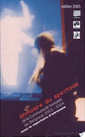 Affiche Annuaire du spectacle 2003-2004 (éd, 2005)