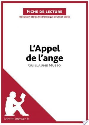 Affiche L'Appel de l'ange de Guillaume Musso (Fiche de lecture)