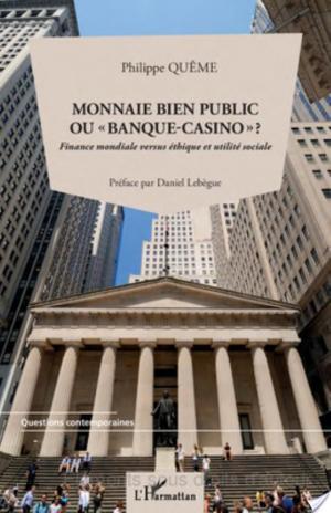 Affiche Monnaie bien public ou