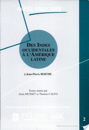 Affiche Des Indes occidentales à l'Amérique latine