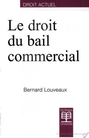 Affiche Le droit du bail commercial