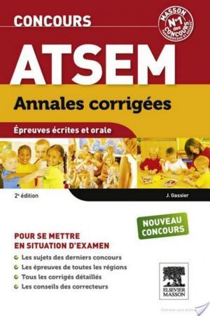 Affiche Annales corrigées Concours ATSEM
