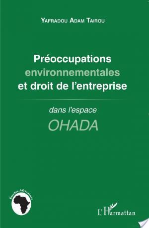 Affiche Préoccupations environnementales et droit de l'entreprise