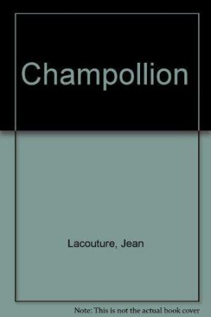 Affiche Champollion