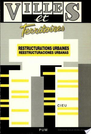 Affiche Reestructuraciones urbanas