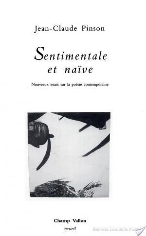 Affiche Sentimentale et naïve