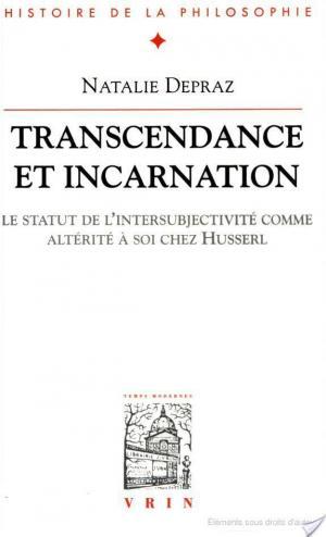 Affiche Transcendance et incarnation