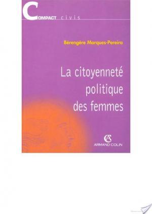 Affiche La citoyenneté politique des femmes