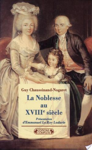 Affiche La noblesse au XVIIIe siècle