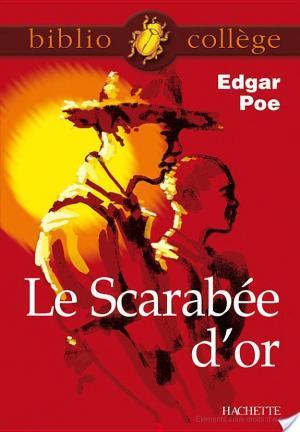 Affiche Bibliocollège - Le Scarabée d'or, Edgar Poe