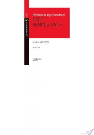 Affiche Memento Jurisprudence administrative