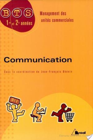 Affiche Communication BTS MUC 1e et 2e années