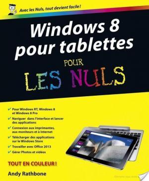 Affiche Windows 8 pour Tablettes Pour les Nuls