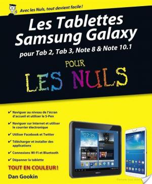 Affiche Les tablettes Samsung Galaxy Pour les Nuls