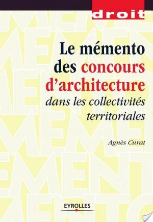 Affiche Le mémento des concours d'architecture dans les collectivités territoriales