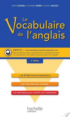 Affiche Le vocabulaire de l'anglais