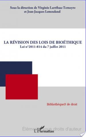 Affiche La révision des lois de bioéthique