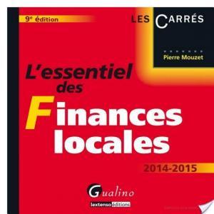 Affiche L'essentiel des finances locales 2014-2015