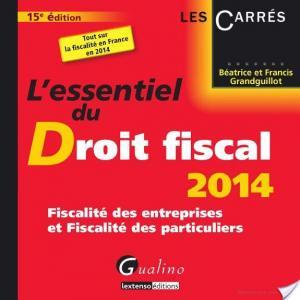 Affiche L'essentiel du droit fiscal 2014
