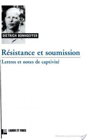 Affiche Résistance et soumission