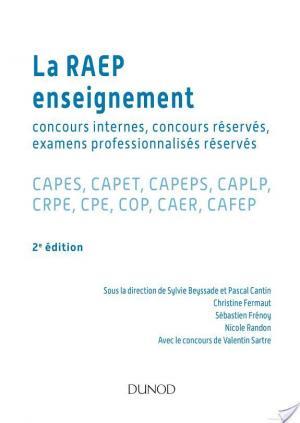 Affiche La Raep enseignement - 2e éd. - Concours internes et réservés, examens professionnalisés réservés