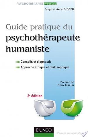 Affiche Guide pratique du psychothérapeute humaniste - 2e édition