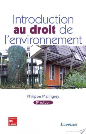 Affiche Introduction au droit de l'environnement