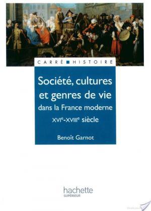Affiche Société, cultures et genres de vie dans la France moderne - Edition 1991